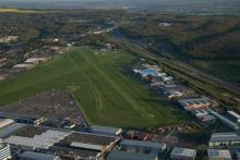 A birds eye view of the Airfield